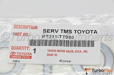 Toyota Tacoma Tailgate TACOMA Chrome Emblem Badge Genuine OEM PT211TC980