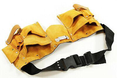 Ledergürtel Premium Werkzeuggürtel Gürtel für Bundweite 85-110 cm