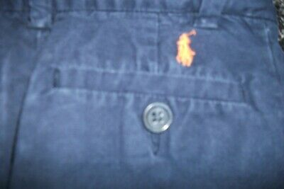 POLO Ralph Lauren  Boys Chinos Navy Blue Age 2/2T 3