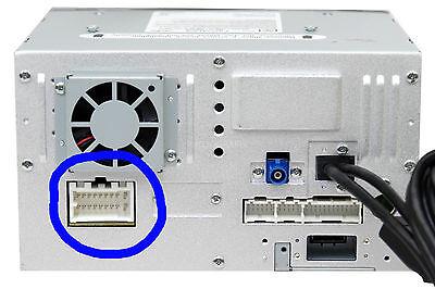 Clarion 18-Pin Wire Harness Plug Vx404 Nx404 Nx602 Nx604 Nx605 Nz503 Vz401 Vz400 3