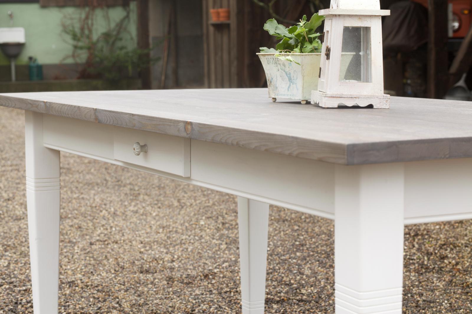 Faszinierend Esstisch Massivholz Weiß Galerie Von 1 Von 6 Tisch Esszimmer 150 Cm