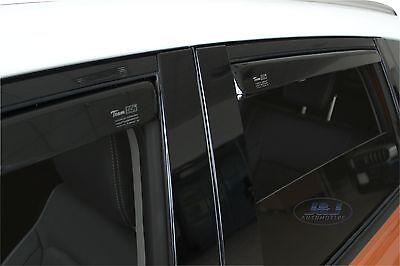 4 Deflettori Aria Antiturbo SUZUKI VITARA II 2014 in poi 5 porte