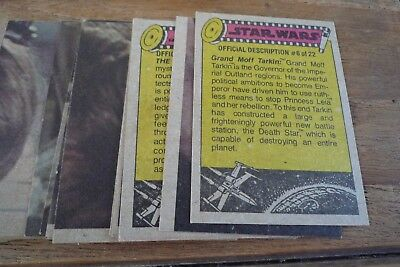 Topps Star Wars Cards 1977 - 3rd Series nos 133-198 VGC  Pick The Cards You Need 3