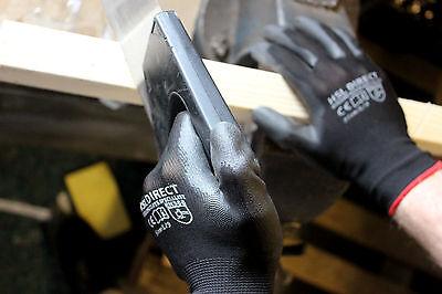 24 Pairs Nylon Pu Coated Safety Work Gloves Gardening Builders Mechanic Grip 4