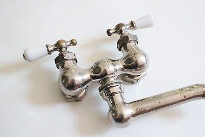 antique faucet kitchen sink | wolverine vtg mixing faucet victorian kitchen deco 6