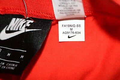 Nike Air Sport Metallic Cotton Leggings Girls - Red Aq9176-634 - M / 10-12 Years 11