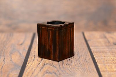 Cane Corso - wooden candlestick with image of a dog, Art Dog UK type 2 4
