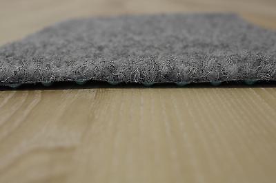 Rasenteppich Kunstrasen Comfort grau 400x360 cm