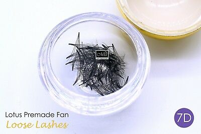 80 Fans Lotus Pre-made 7D Loose Pre-fan Lash Semi Permanent Eyelash Extension 5