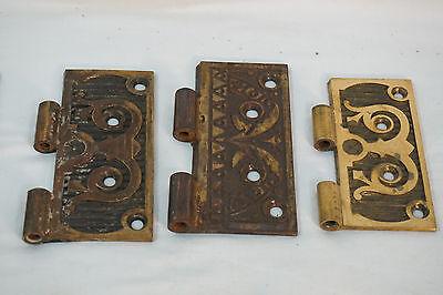 Antique Door Hinges Aesthetic Hardware Victorian Lot Steeple 1877 Singles 3