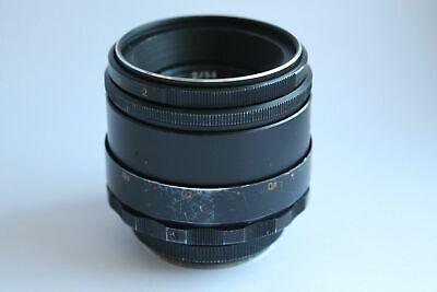 Helios 44-2 58 mm f/2 M42 Boke Lens for Zenit E-Mount Sony NEX A 7 R 7S II a5000 3