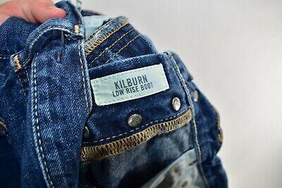 Abercrombie Fitch Kilburn Low Rise Boot Cut Boys Men Jeans Size 16 Meas 30x31 12