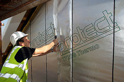 Glidevale PROTECT TF200 THERMO Reflective Insulation | Breather Membrane 1.5x50m