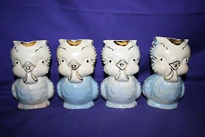 1940's 1950's Shawnee Pottery Chick Creamer Pitcher 16 different available 3