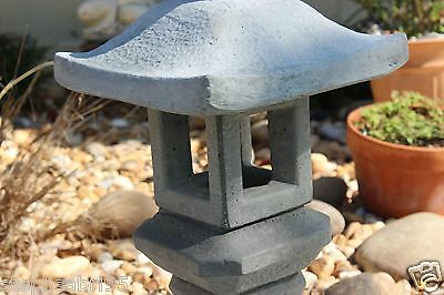 5 Of 8 Pagoda Oriental Concrete Lantern Japanese Garden Yard Art Japan Stone  New