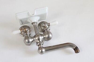 antique faucet kitchen sink | chicago vtg mixing faucet victorian plumbing deco 7