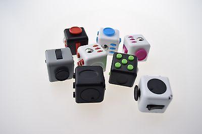 UK Fidget Cube Spinner Toy Children Desk Adults Stress Relief Cubes ADHD Camo 10