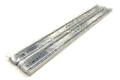 "10 Pairs Full Extension 100-lb Ball Bearing Drawer Slides 8""-24"" 5"