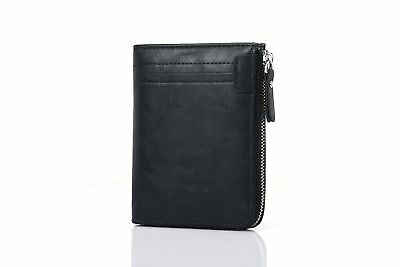 AU Designer Mens Leather Wallet RFID Contactless Card Blocking ID Protection 2