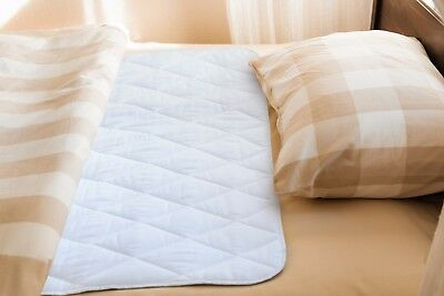 """Reusable Waterproof Bed Pad & Sheet Protector - 34"""" x 52"""" inches Underpad 9"""