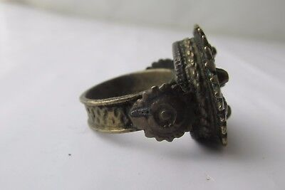Unique Rare Ancient Late Roman/Early Byzantine Ring With Cross 5