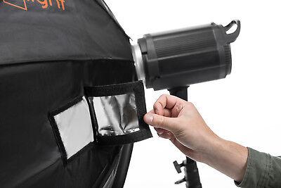 150cm Octabox & Grid | Bowens | LuxLight® | Photo Studio Flash Softbox Octobox 12