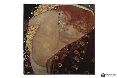 """The Sunflower 8.5x11/"""" Photo Print Gustav Klimt Still LIfe Art Flower Painting"""