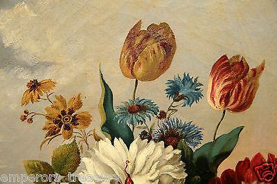 Early 20th Century European Flower Still Life Oil Painting 6
