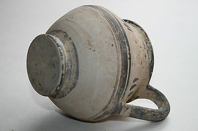 ANCIENT GREEK HELLENISTIC  POTTERY KANTHAROS 3rd CENT BC 5