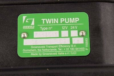 New NLG1-2 Groeneveld Twin Pump 24V  Grease Lubrication System Type F116316