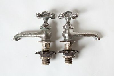 antique faucet bathroom sink | standard vtg victorian bathroom plumbing deco 10
