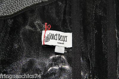 luxueux bustier en dentelle noire JANET REGER LONDON taille 40/42 valeur 555€ 3