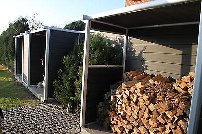 Wpc Alu Sichtschutz Terrasse Gartenzaun Windschutz Zaun Wand Garten