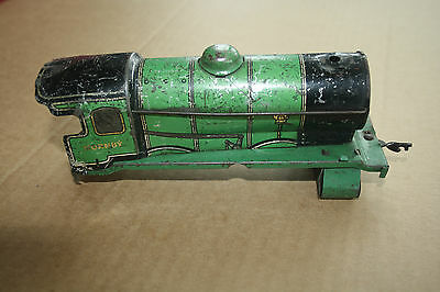 A beautiful  OLD TINPLATE TOY as a  DESK or BOOKCASE ORNAMENT Hornby 'O' gauge g 3