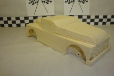 Pinewood Derby Pre-cut #27-30 Mater Tow Truck Cool Truck! Add in a Tow Boom