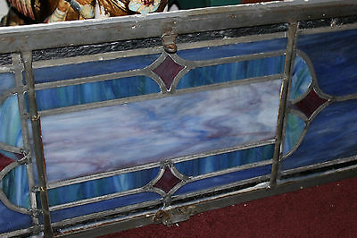 Antique Religious Church Stained Glass Window-Dedicated-Architectural Window 8