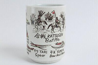 Mino ware Japanese Ceramics Sushi Yunomi Chawan Tea Cup Secret of Longevity