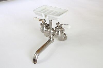 antique faucet kitchen sink | chicago vtg mixing faucet victorian plumbing deco 3