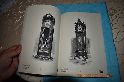Herschede clock book Reprint of selections from four catalogs circa 1904-1927 4