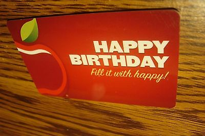 Applebees Happy Birthday Gift Card No Value Never Used Or Activated