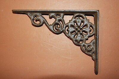 Old-Fashioned Padlock Decor, Vintage-Style Small Shelf Brackets, Solid Cast Iron 2