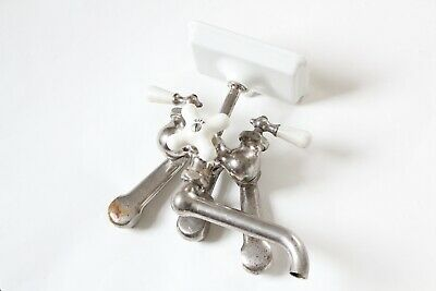 antique faucet kitchen sink | chicago vtg mixing faucet shower victorian deco 8