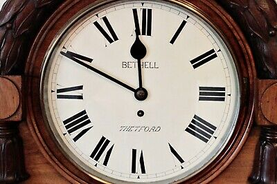 Antique Extra Large Extra Rare English Fusee 'Bethell', Coventry Astral Clock 3