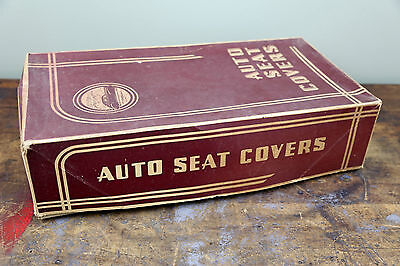 Brilliant Vintage Firestone Supreme Automobile Seat Covers Box Only Pabps2019 Chair Design Images Pabps2019Com