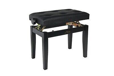 Adjustable Piano Stool in Matt Black, Brand New, Boxed, Hadley HA200 - Save £110 3