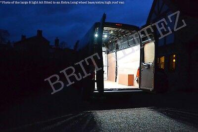 Britalitez Van Lighting Kit, Upgrade, 6 Light Medium Wheel Base Kit