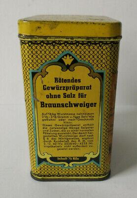 Alte Blechdose, Dose - Gewürzschmidt Berlin - Werner Schmdt K-G, Berlin 2
