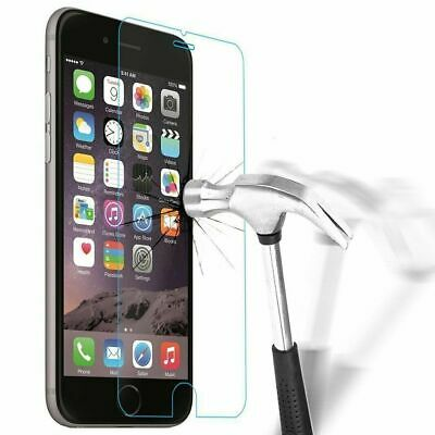 vitre verre trempe film de protection pour iPhone 5/5C/SE/6/6S/7/8/X/XS MAX XR 9
