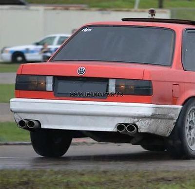 BMW E30 Rear M Tech M Technik Style Bumper Spoiler Add On Lip Valance