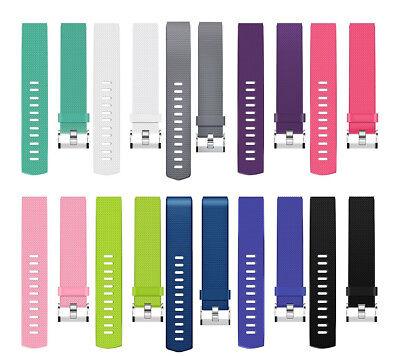 Fitbit Charge 2 Armband Uhrenarmbänder Verstellbares Ersatz Sport Fitnesstracker 4